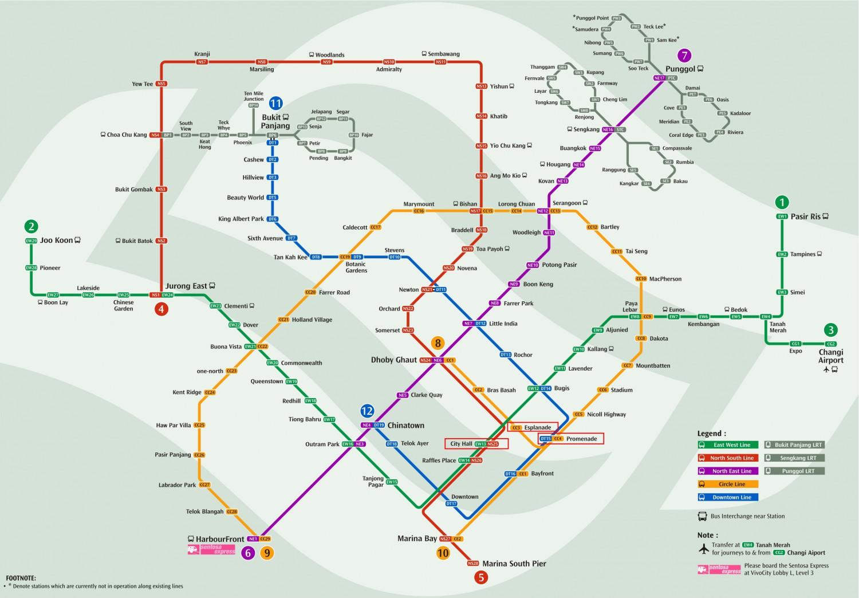 Le métro de Singapour   Voyage Singapour