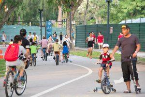 Vélo à Singapour
