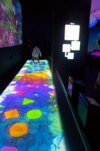 Jeux Interactifs au musée des arts et des sciences de Singapour